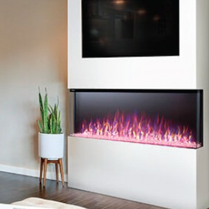NAPOLEON® Trivista™ 50 NEFB50H-3SV Built-in 3-Sided Electric Linear Fireplace