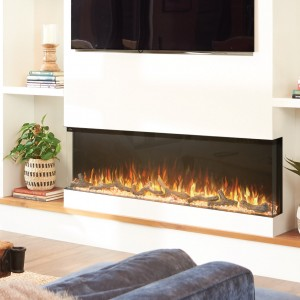NAPOLEON® Trivista™ 60 NEFB60H-3SV Built-in 3-Sided Electric Linear Fireplace