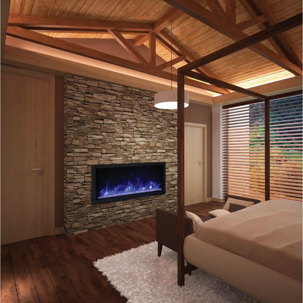 AMANTII® PANORAMA EXTRA TALL™ BI-50-DEEP-XT Electric Fireplace