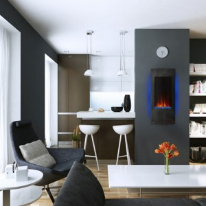 NAPOLEON® AZURE™ VERTICAL – NEFV32H & NEFV38H Electric Fireplace