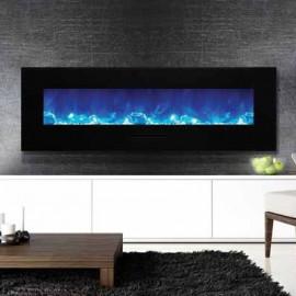 AMANTII® FLUSH MOUNT™ WM-FM-60-7023-BG Electric Fireplace